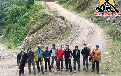 دوره برگزار شده ی کوهپیمایی مقدماتی فدراسیون