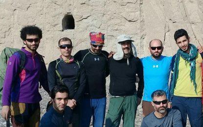 برگزاری دوره سنگ طبیعت فدراسیون کوهنوردی