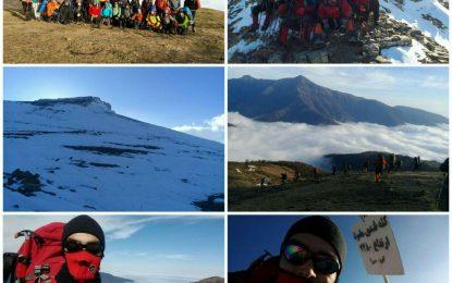 چهارمین مرحله اردوی هیمالیانوردی منتخبین استان گیلان ۹۶