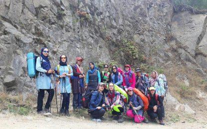 برگزاری دوره کوهپیمایی بانوان تیرماه ۹۷