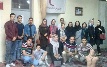 برگزاری دوره امداد و کمکهای اولیه خرداد ۹۷