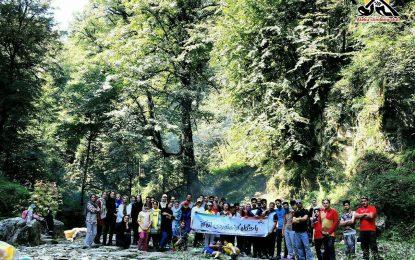 آبشار و تنگه کوهسر-نشتارود-۲۳ شهریور ۹۷