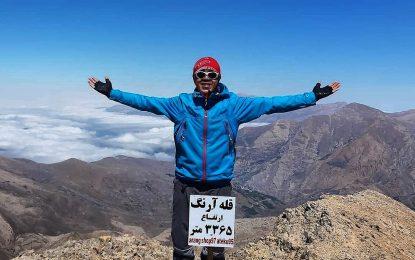 برنامه اجرا شده : قله آرنگ و قلل سرکلامگاه ۲۵ مهر ۹۹